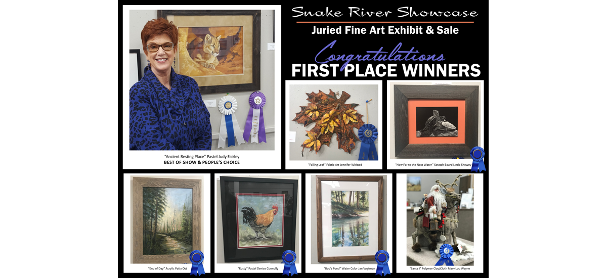 2018 Snake River Showcase Winners