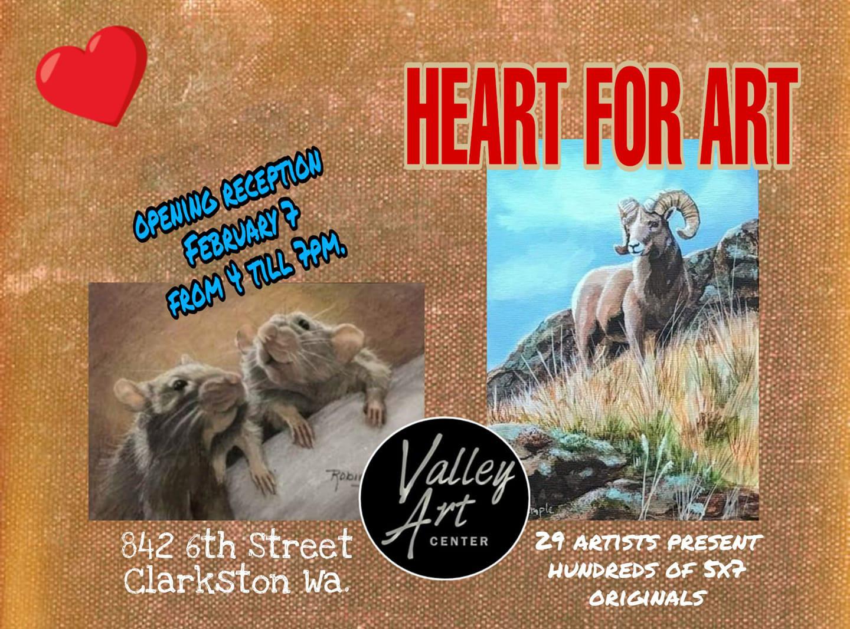 Heart for Art Exhibit