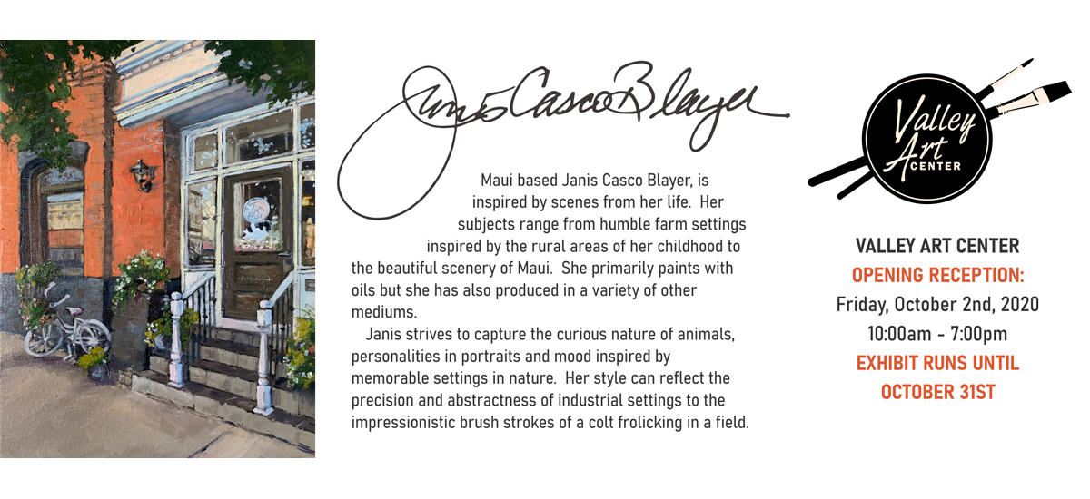 Janis Blayer Opening